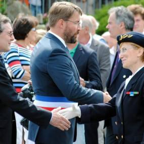 Avranches 31 juillet 2014, commémoration du 70ème anniversaire de la libération de la ville