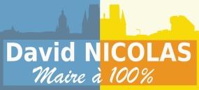 Slogan de campagne et réalité au quotidien : David Nicolas, maire à 100%