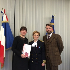 L'entrée dans la citoyenneté française d'habitants d'Avranches, cérémonie à la préfecture de Saint-Lô