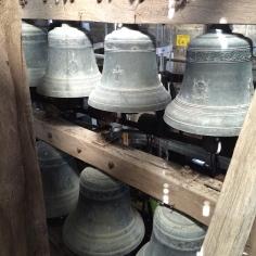 Les cloches du carillon de la basilique Saint-Gervais