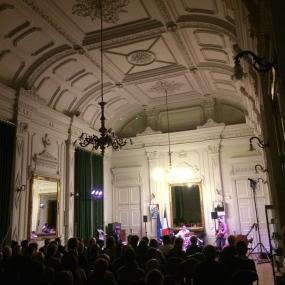Concert dans la salle du conseil de la mairie, 13 mars 2015