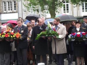 Cérémonie du 8 mai 2015 à Avranches