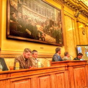 Table ronde démocratie ouverte à l'Assemblée nationale, le 30 mars 2015