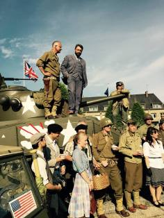 Vernissage du Sherman de la place Patton, 19 juin 2015