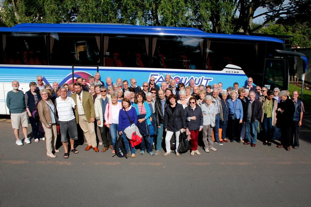 Jumelage Avranches-Crediton (GB), 23-25 juin 2015