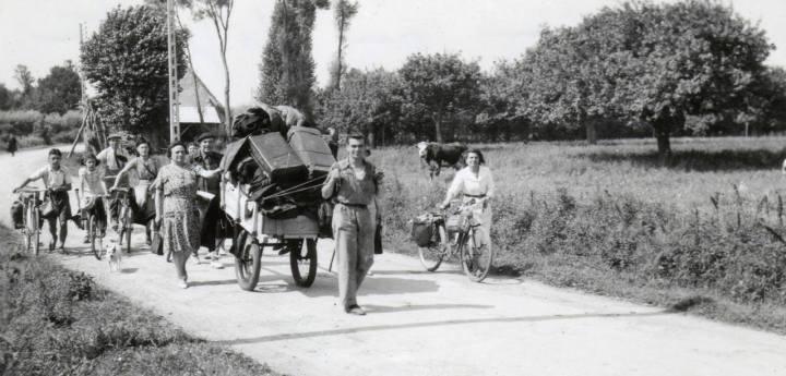 Exode normand, juin 1944