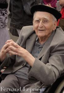 Fernand Le Prieur le 31 juillet 2014