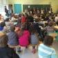 le élèves du lycée Littré d'Avranches venus présenter leur travail historique sur la famille Mainemer, déportée en 1942, à des CM2 d'Avranches